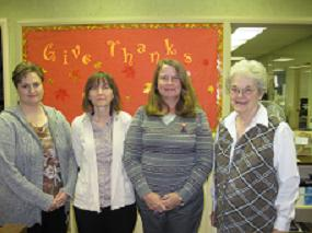 Jennifer Lacy, Laurie Morris, Mary Hare & Alice Stamps